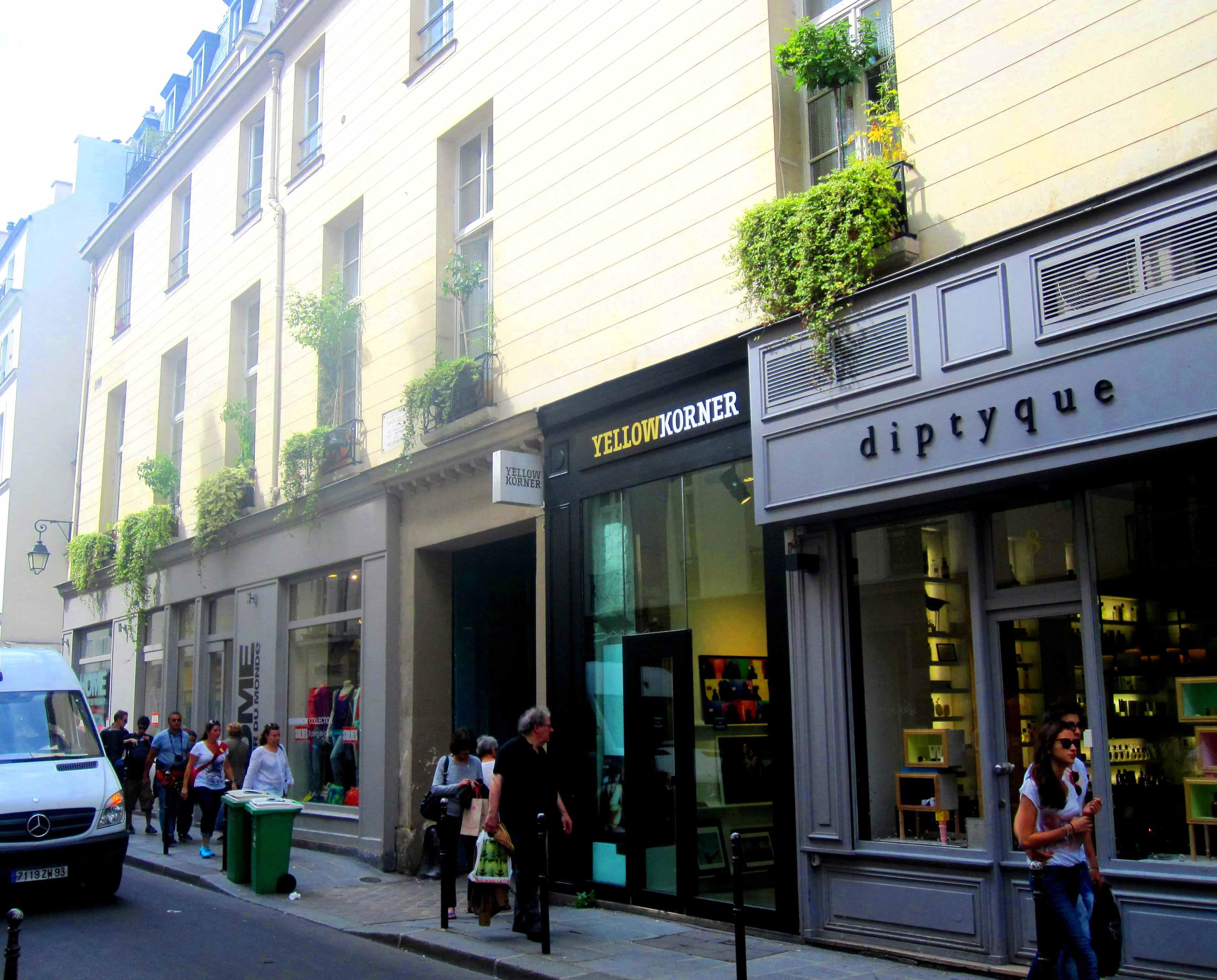 Yellowkorner Paris Francs Bourgeois mercerie – 8 rue des francs bourgeois, paris – pelicangroupe